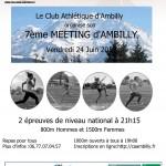 Liste des engagés au meeting d'Ambilly