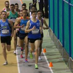 Guillaume Champion de France Elite 3000m en salle